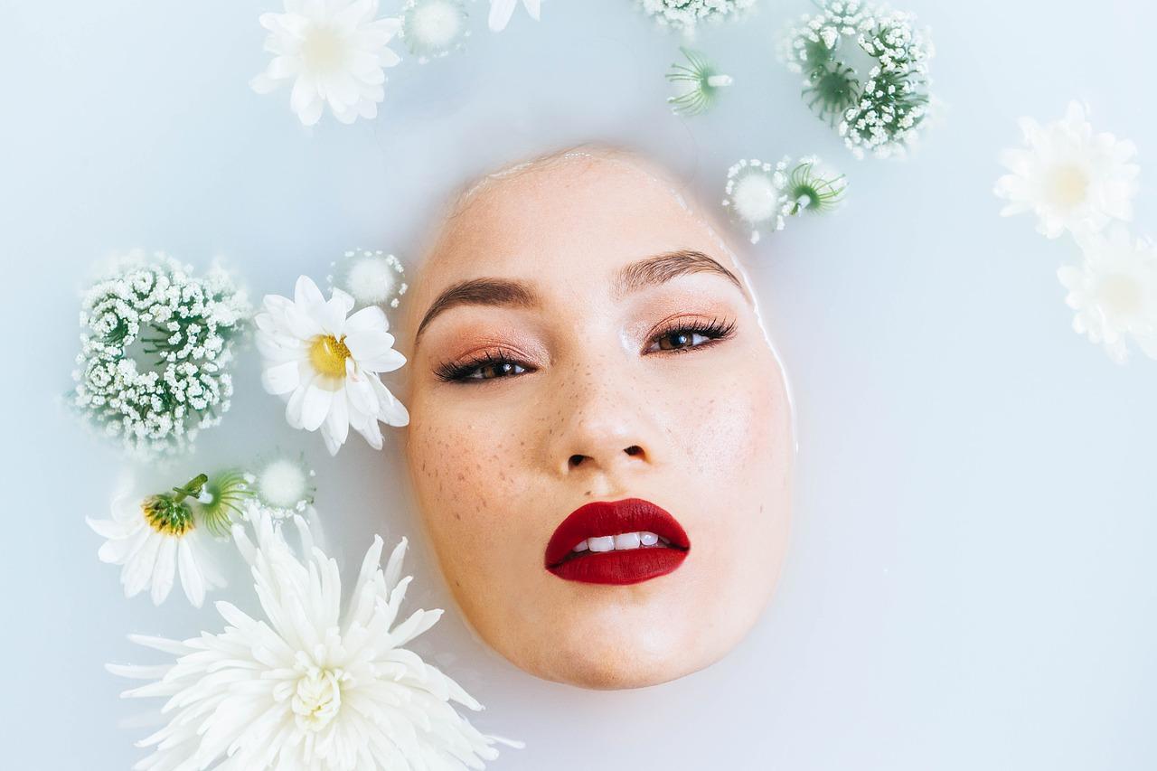 woman, beauty, face